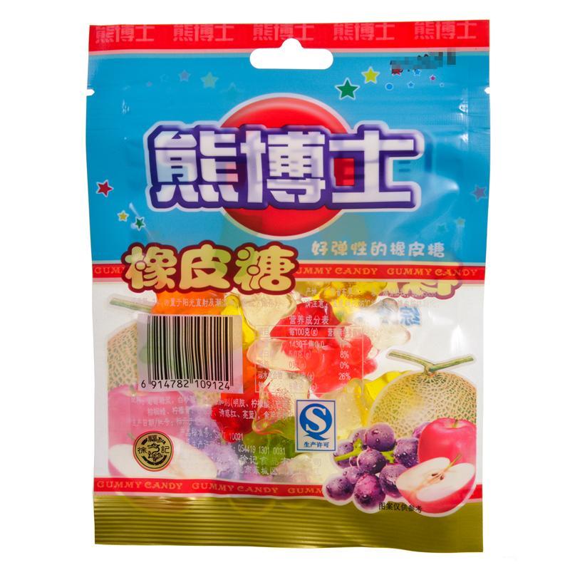 【天顺园店】熊博士60橡皮糖(综合果味)60g(编码:149570)