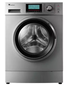 新款小天鹅滚筒洗衣机tg60-1211lpd(s)变频静音