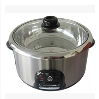 爱德电火锅A130GG/2.8L不锈钢电火锅/煎锅