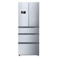 Midea/美的 BCD-330WTV炫酷钢 风冷无霜多门凡帝罗冰箱正品包安