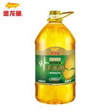 金龙鱼植物甾醇玉米油5L 非转基因食用油 物理压榨