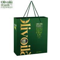 欧丽薇兰 特级初榨橄榄油750ML*2简装礼盒装