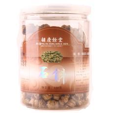 胡庆余堂 紫皮石斛 120克*1瓶 I级齿瓣石斛 紫皮枫斗