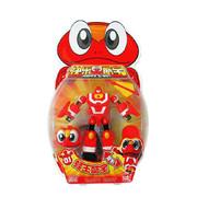 灵动创想快乐酷宝7501蛙王酷宝青蛙小宝6寸变形玩具
