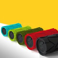 迷你低音炮蓝牙音箱户外三防拙石肩麦可接电话mini小音箱 本款仅限绿色