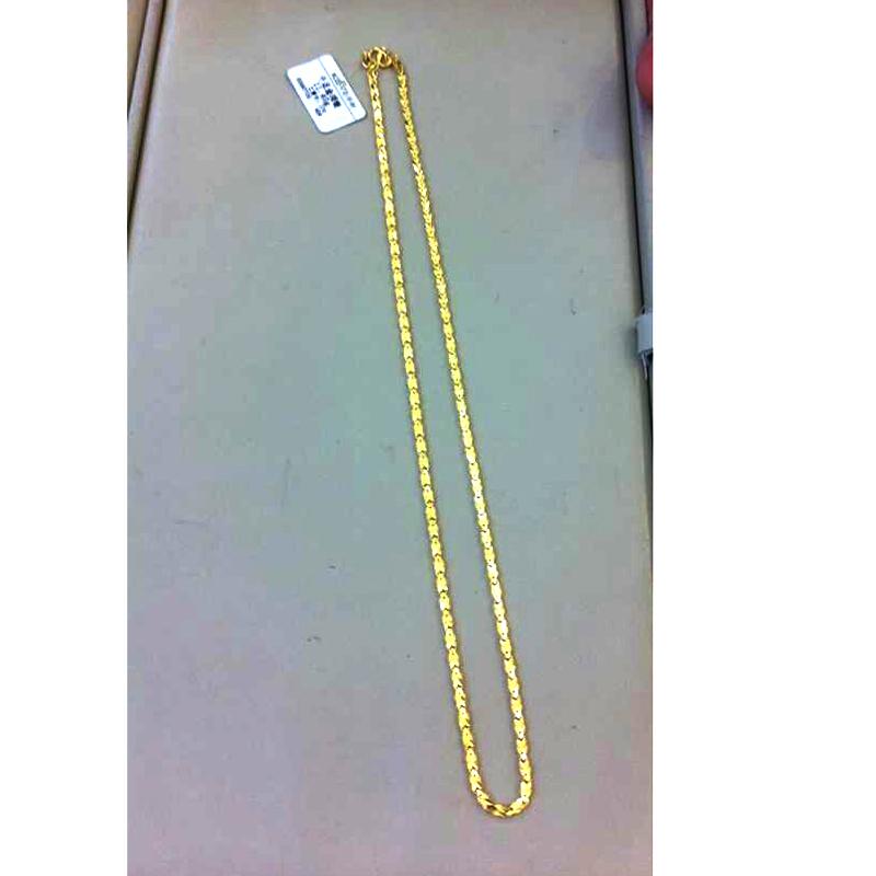 千叶珠宝黄金项链图片