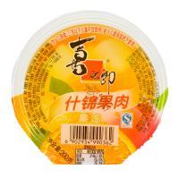 【天顺园店】喜之郎什锦果肉杯果冻200g(编码:111846)