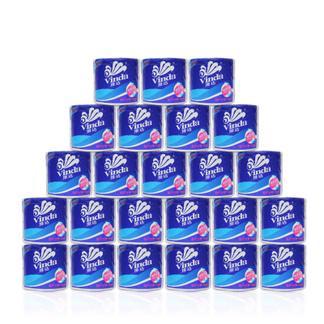 维达蓝色经典卷筒纸家用卫生纸 135g*24卷   4508*24