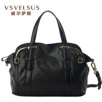威尔萨斯正品 2014新款时尚手提包 女士头层牛皮单肩包VA3059