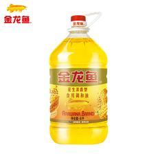 金龙鱼 花生浓香食用调和油4L  持久浓香1