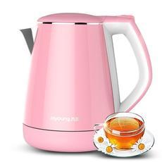 Joyoung/九阳 K15-F623自动保温防烫电热水壶不锈钢家用电水壶