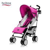 britax/宝得适 佳途超轻便伞车易折叠婴幼儿手推车可平躺婴儿推车 玫红色B50002