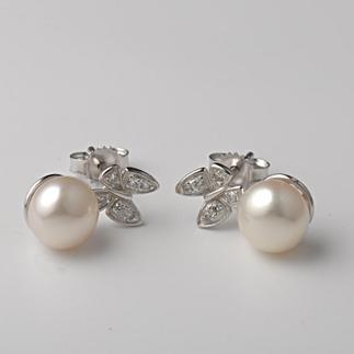VINAVINA专柜正品 珍珠系列 S925银耳环 Z040193V 女款