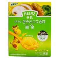【超级生活馆】亨氏优加营养西兰花香菇面条246g(编码:311438)