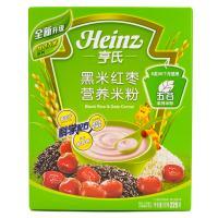 【超级生活馆】亨氏婴儿黑米营养米粉225g(编码:115023)