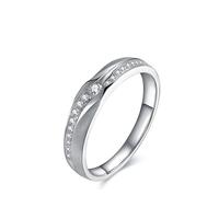 ENZO 白18K金 钻石戒指 ENZO 99 爱的蜜友系列 经典时尚婚戒ER6005703