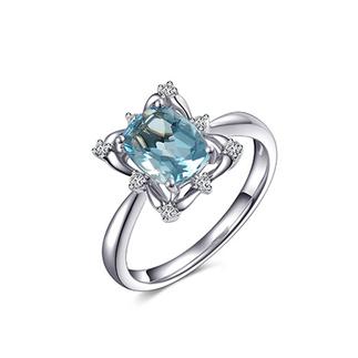 ENZO    ER6001806   18K金彩宝钻石戒指