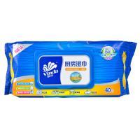 【天顺园店】维达VW4002厨房湿巾1*40P(编码:498551)