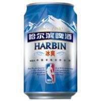 【天顺园店】哈尔滨啤酒(冰爽)听装330ml330ml(编码:358031)
