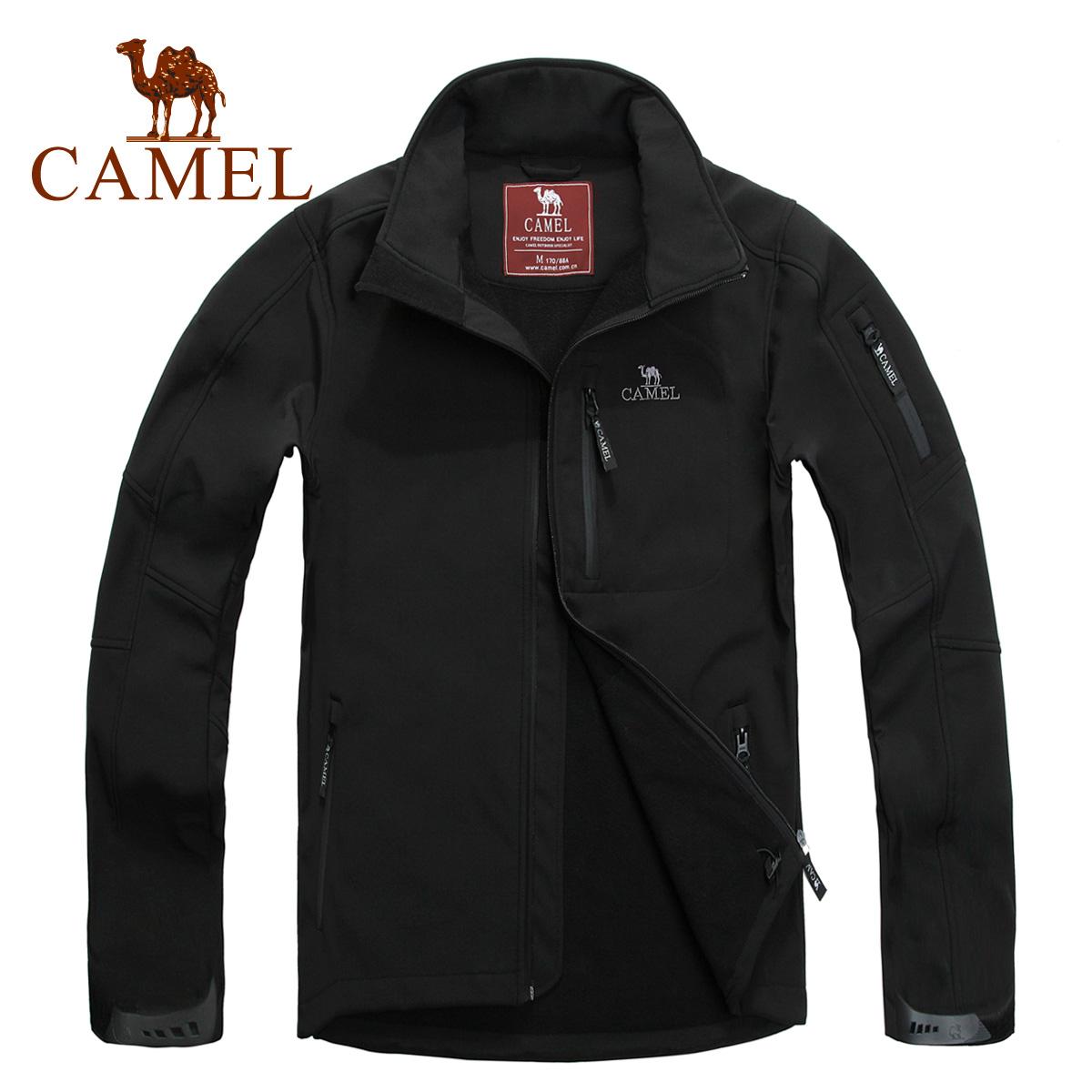 camel骆驼户外软壳衣 男款 户外防水透气软壳衣