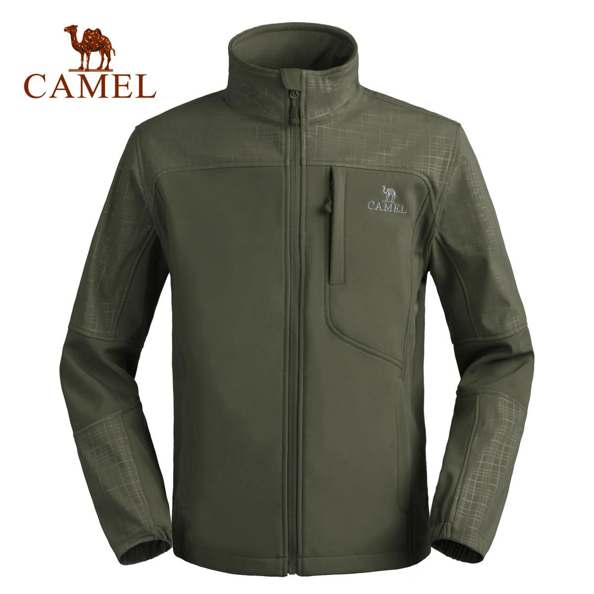 Camel/骆驼户外 春夏新品 男款休闲软壳衣 2F01235