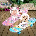 喜羊羊YY-312 儿童四轮滑板 少儿卡通双翘板PU轮 小孩玩具特价正品
