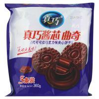 【天顺园店】真巧曲奇酱心巧克力味饼干360g(编码:291146)