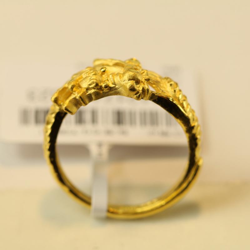 婚照片 千足金戒指 女士千足金戒指款式图片