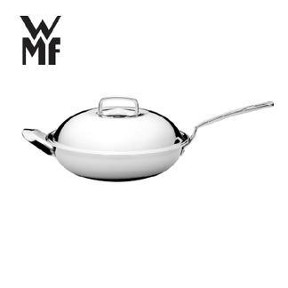 【国广315】WMF福腾宝  不锈钢28cm中华炒锅 不粘锅无涂层5层底锅具