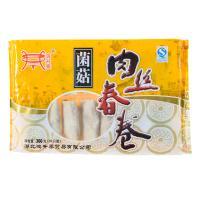 【天顺园店】鸿升泰菌菇肉丝春卷360g(编码:245977)