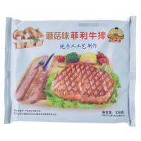 【天顺园店】鸿亮磨菇菲利牛排160g(编码:386236)