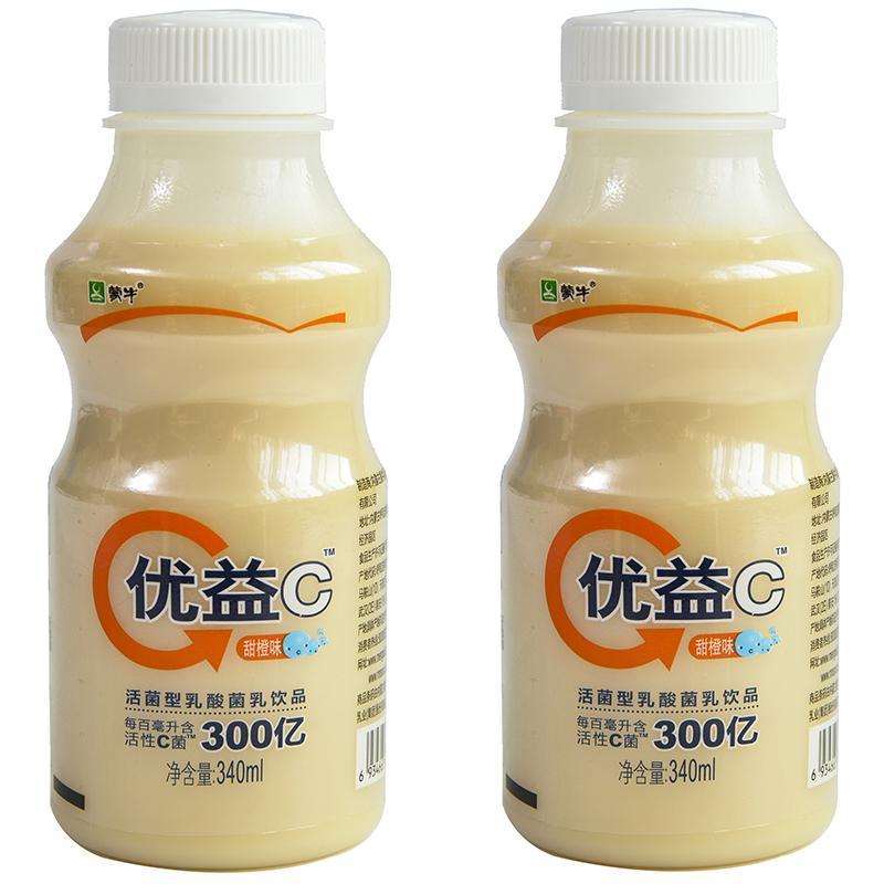 【天顺园店】蒙牛优益c橙味340ml(编码:334833)