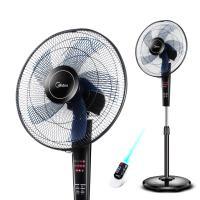 美的电风扇家用预约定时遥控落地扇五叶静音学生FS40-13CR特价