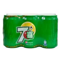 【天顺园店】七喜拉罐六连包330ml*6(编码:289791)