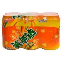 【天顺园店】美年达橙味6连包330ml*6(编码:393574)