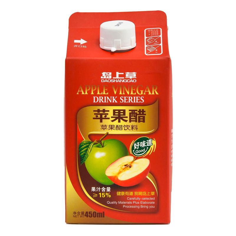 【超级生活馆】★岛上草苹果醋450ml(编码:431553)