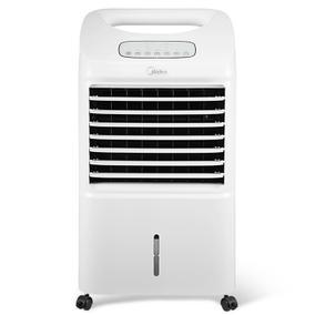美的空调扇 AC100-15ERW 遥控静音制冷风扇 家用无叶电风扇 单冷