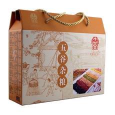 胡庆余堂 五谷杂粮礼盒 黑豆 芸豆 薏苡仁 黑米 燕麦米 玉米 糁黄豆 小米