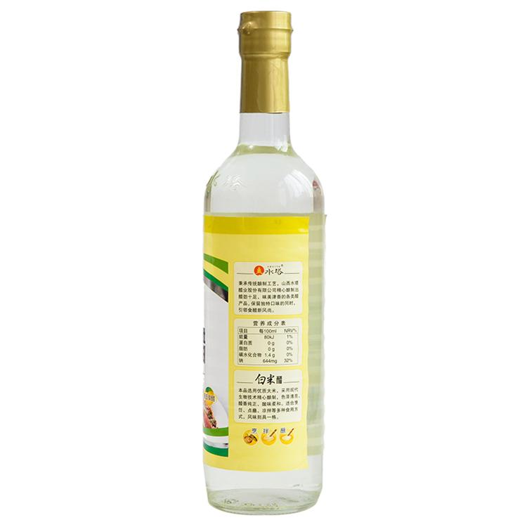 【天顺园店】水塔白米醋500ml(编码:363334)