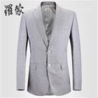 罗蒙小西装男士修身青年商务休闲装2015新款单西职业外套34113467