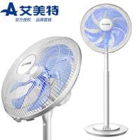 新品 艾美特台立扇电风扇 SW164T2 七片叶家用静音节能机械台立扇