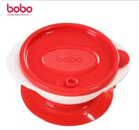 香港bobo乐儿宝吸盘碗 婴幼儿学食碗 防滑 碗塑料碗 防摔碗 可微波BD306