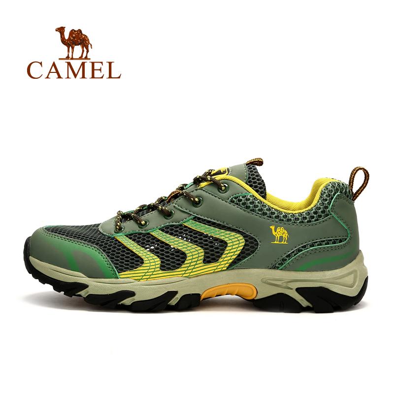 camel骆驼户外男款徒步鞋 春夏新款透气耐磨防滑运动鞋