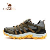 camel骆驼户外男款越野跑鞋 春夏透气耐磨徒步越野跑鞋