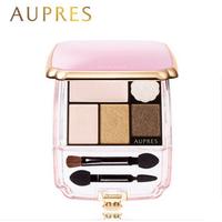 AUPRES欧珀莱 漾彩流光五色塑颜眼影盘裸妆修颜高光眼影盒4g