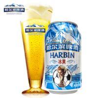 【超级生活馆】哈尔滨啤酒(冰爽)听装330ml(编码:358031)