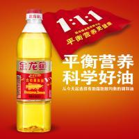 金龙鱼食用油 黄金比例 调和油900ML