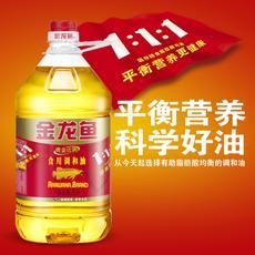 金龙鱼黄金比例食用调和油5l