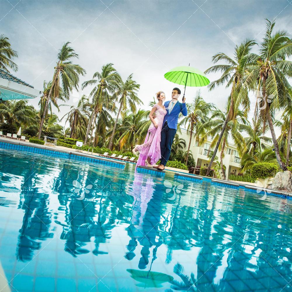 椰林滩椰梦长廊3999婚纱摄影套系