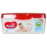 【超级生活馆】好奇婴儿柔润湿巾盒装80抽(编码:256862)